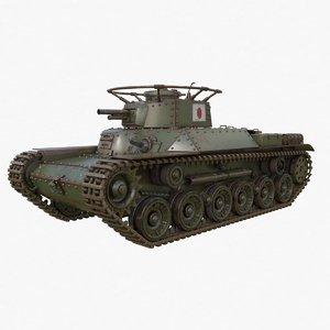 tank type 97 chi 3D
