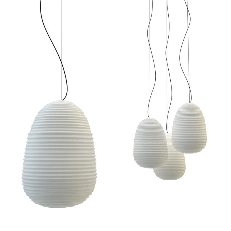 suspended focsarini rituals lamp 3D model