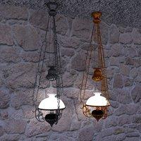 3D ottoman lamp model