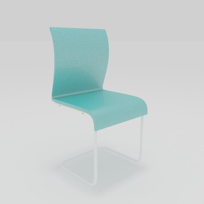 3D chair simple model