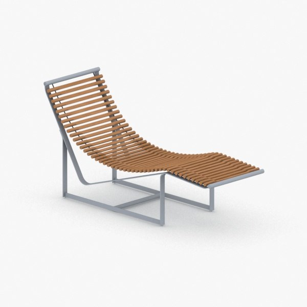 3D model - chairs lounge