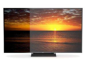 tv sony x9300d 3D model
