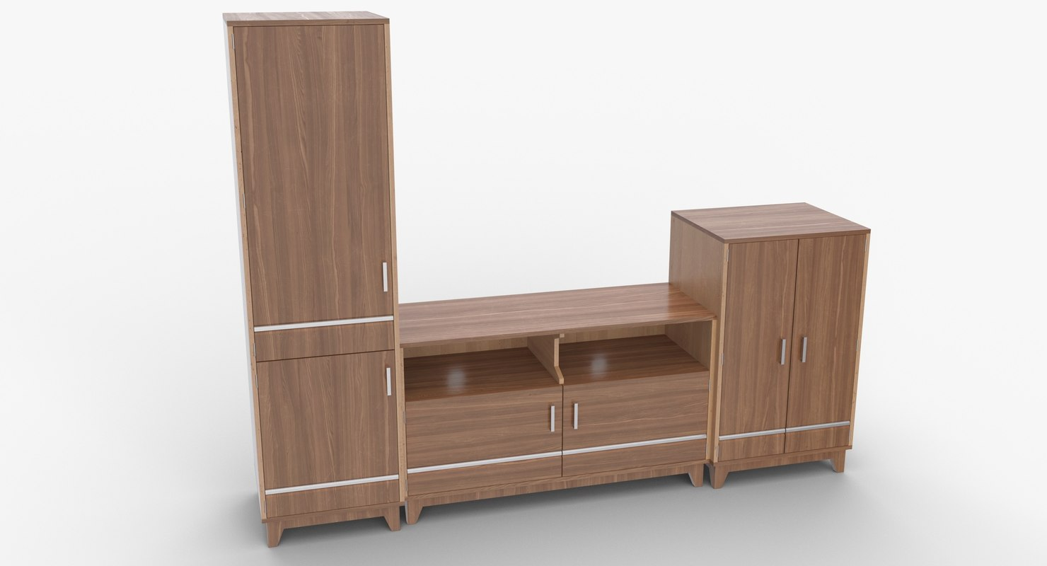 3D tv stand 52