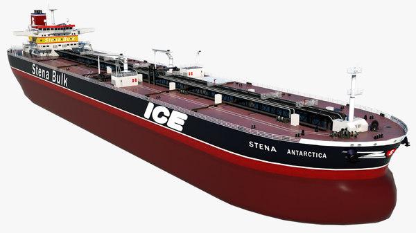 crude oil tanker stena 3D