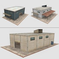 3D warehouse pack 3 1 interior model