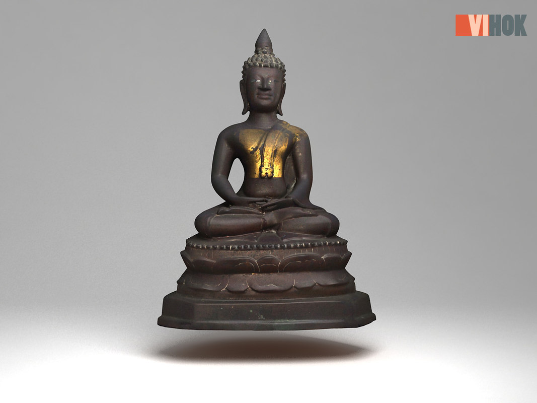 ancient buddhas 3D model