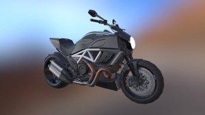 3D ducati bike