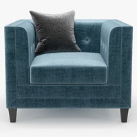 3D elystan armchair - model