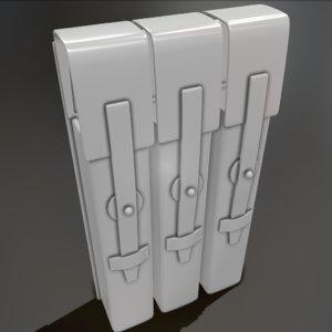 magazine case 3D model