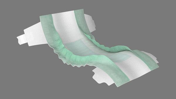 3D diaper