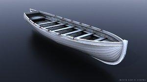 9m cutter japanese 3D model