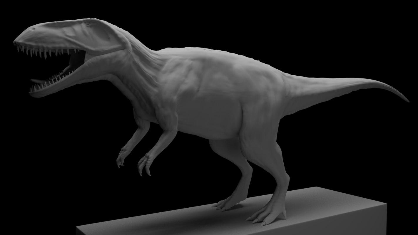 3D model torvosaurus