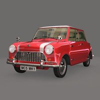 3D mini car s 1967