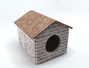 pet bed nest 3D
