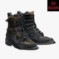 3D scan shoes model