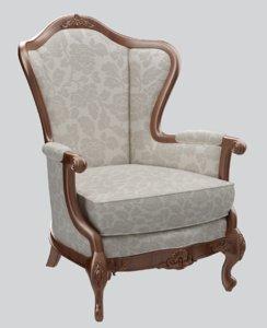 3D classic sofa chair armchair furniture