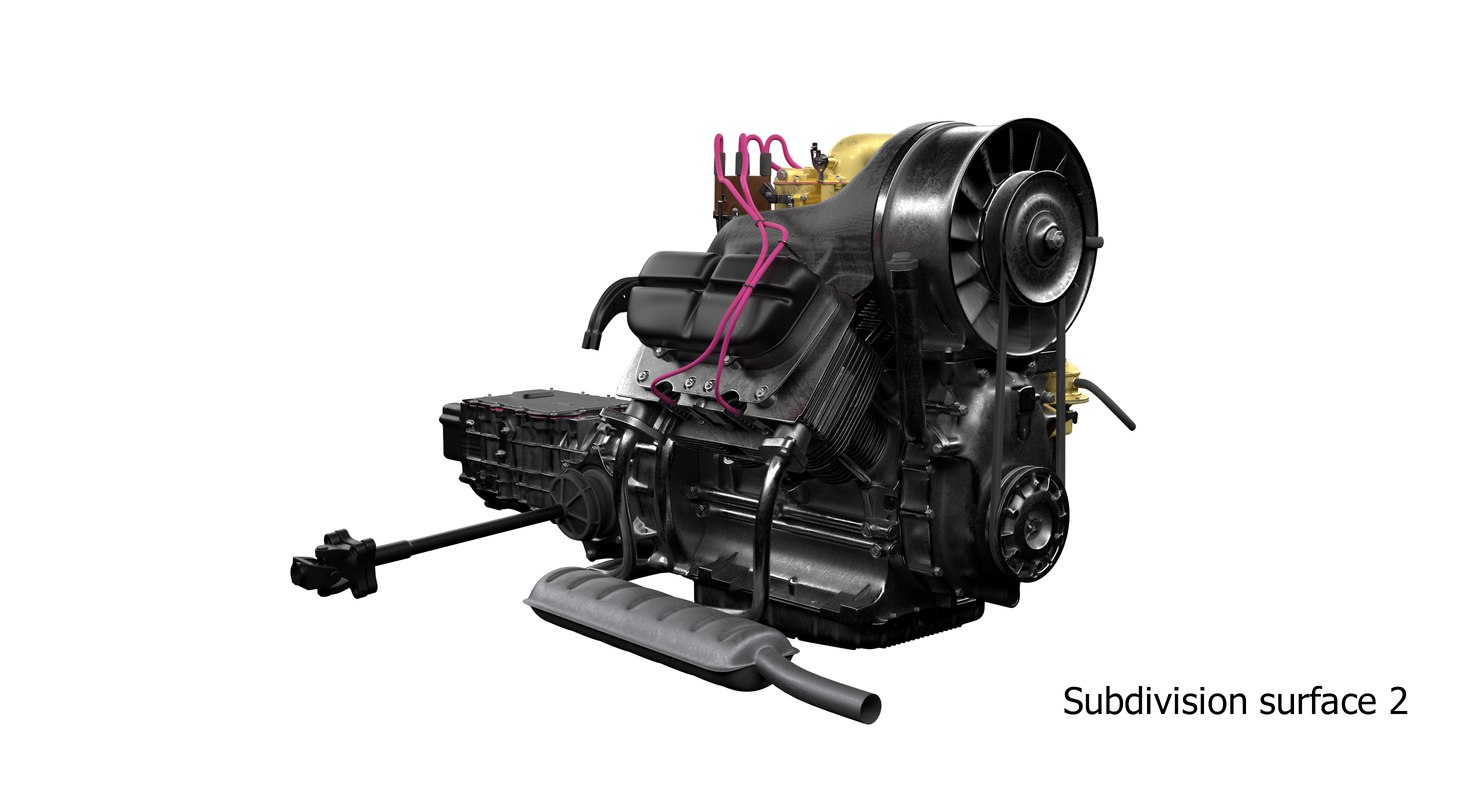 3D power ussr engine