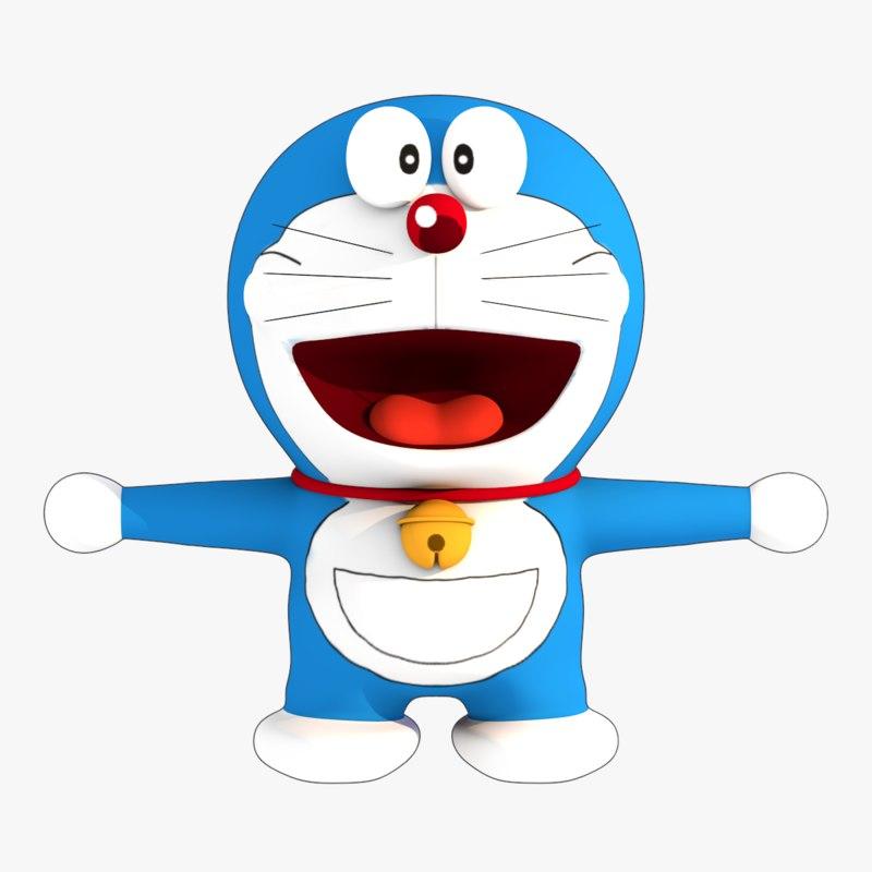 Doraemon 3d Game: TurboSquid 1272531