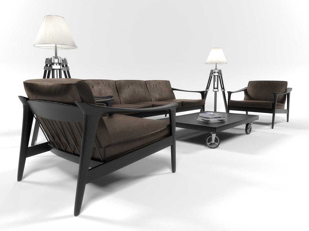 colorado furniture set 3D
