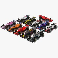 Formula 1 Season 2018 F1 Race Car Collection