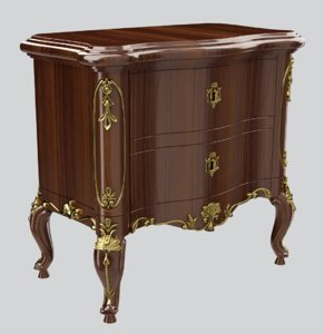classic furniture console 3D model