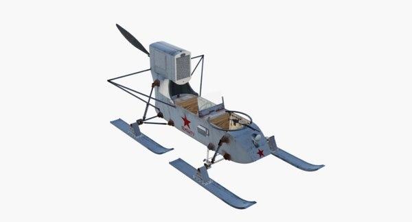 3D aerosan gaz military