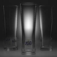 beer glass 4 3D model