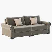 Darby Home Co Lebanon Modular Sectional Sofa Two Seater