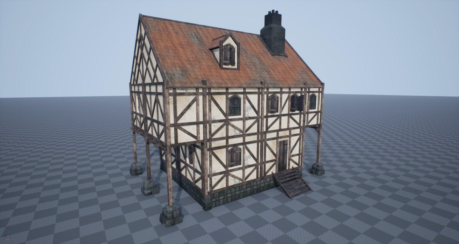3D pbr medieval model