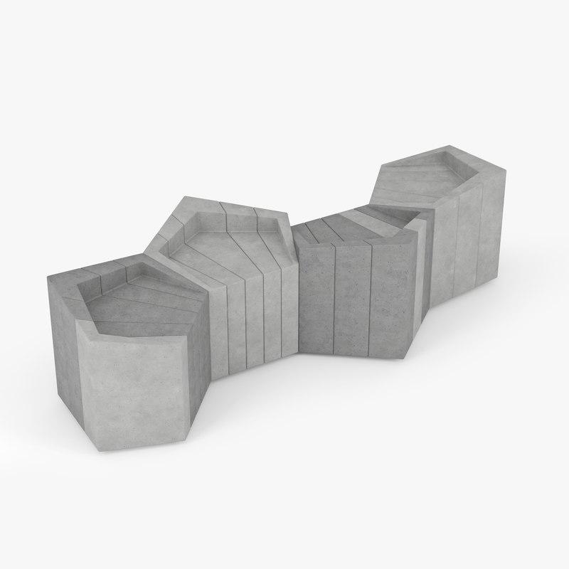 urban furniture 3D model