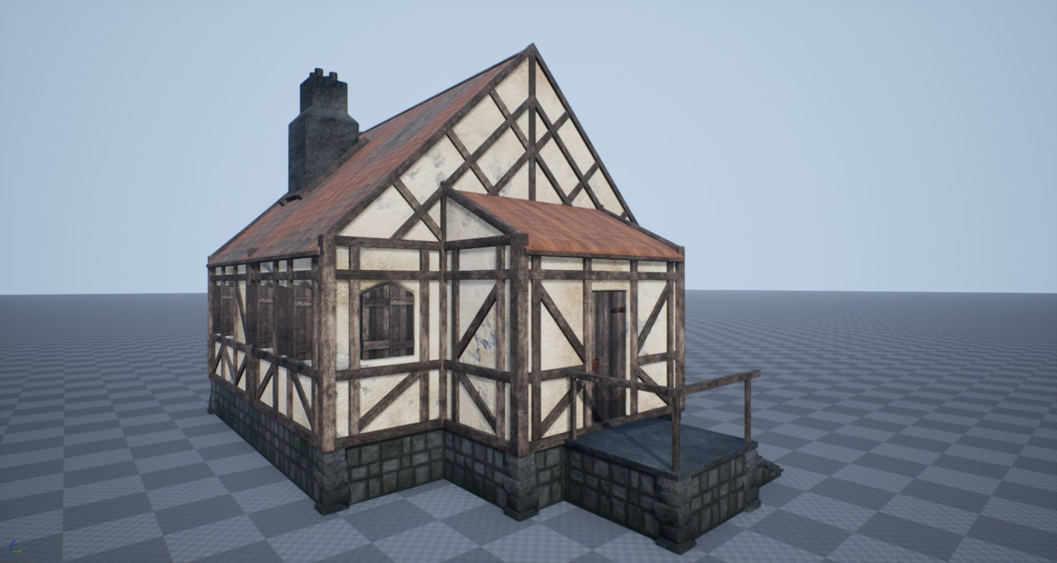3D pbr medieval