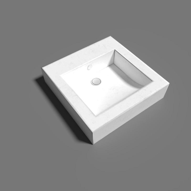 3D model pbr shaded