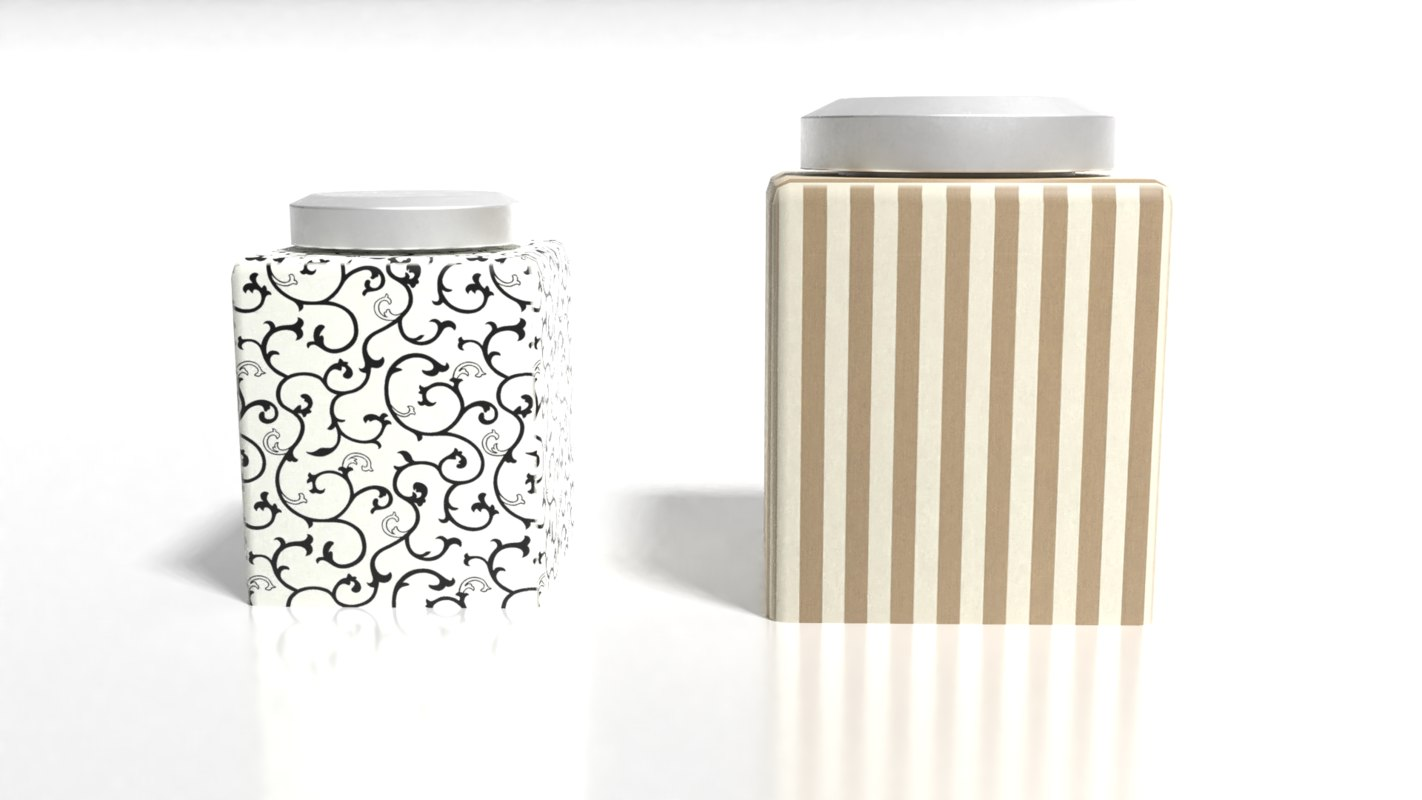 3D bottle containers