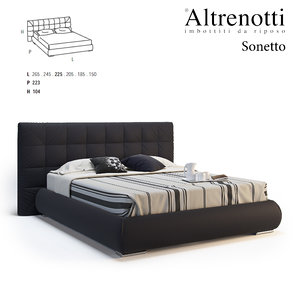 altrenotti sonetto 3D model
