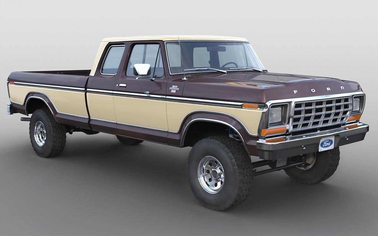 1978 f-150 supercab model