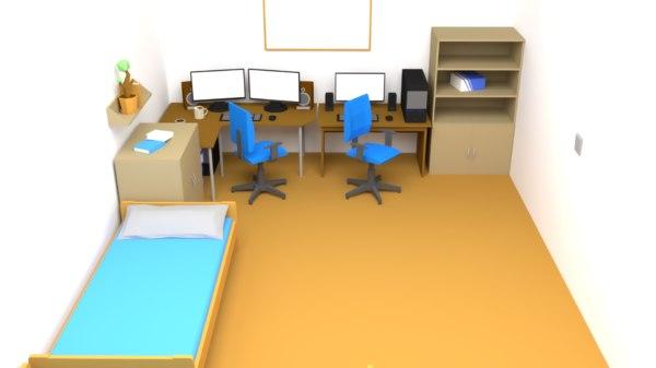 assets blender 3D model
