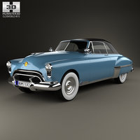 oldsmobile 88 futuramic 3D model
