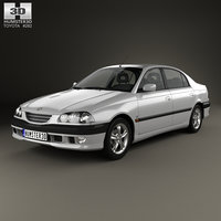 3D toyota avensis t
