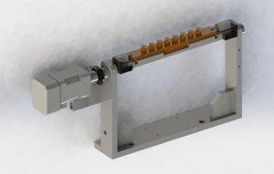 motor rotation axis 3D model