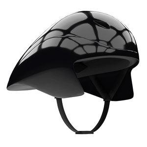 time trial bicycle helmet 3D