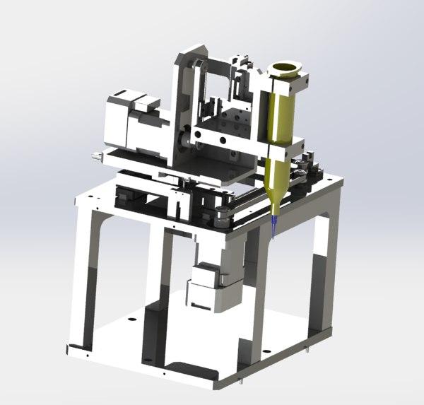 3D axis belt mechanism