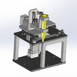 3D axis belt mechanism