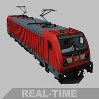 3D real-time traxx p160 locomotive