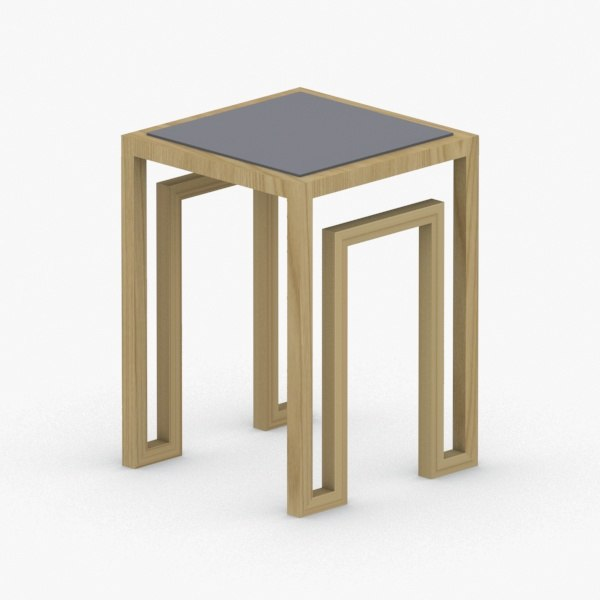 3D - table coffee