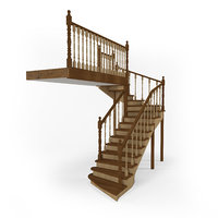 stairs 1 3D model