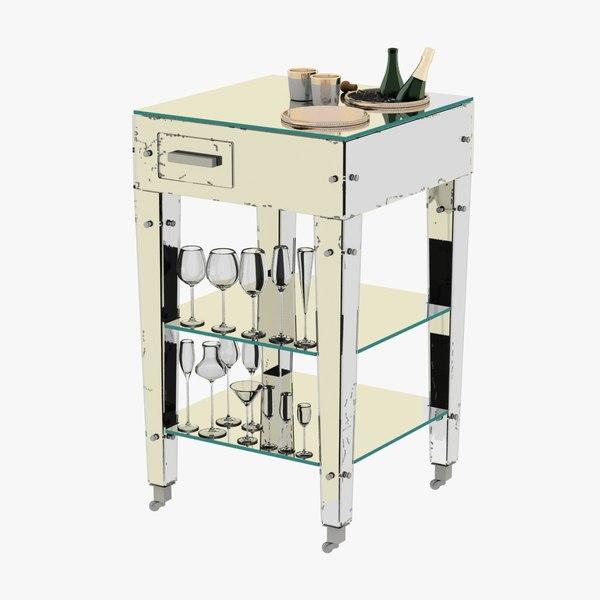 3D refraicher adnet rare mirrored