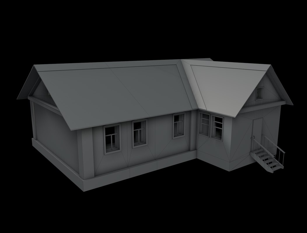 village house model