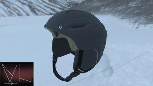 ski helmet 3D model