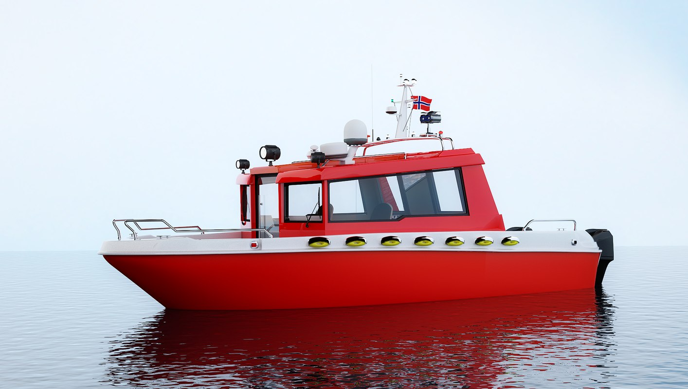 3D rescue boat water