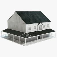 farmhouse farm house 3D model